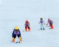nauka jazdy na nartach Skimka