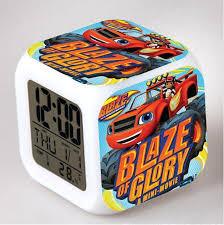 Blaze and the Monster Machines <b>LED</b> Digital Alarm <b>Clock</b> Watch ...