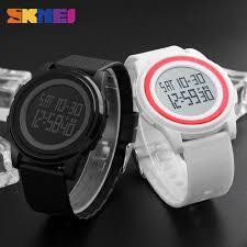 %<b>Skmei Men Women LED</b> Digital Watch Sport Thin Watches ...