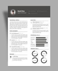 elegant resume cv design template psd file good resume elegant resume cv design template psd file