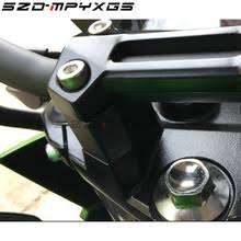 Motorcycle handlebar riser handle bar mount clamp adapter for ...