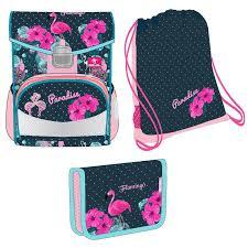<b>Ранец Belmil Click</b> Flamingo Paradise с наполнением. Купить ...