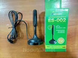 Комнатная DVB-T2 <b>антенна Eurosky ES-002</b>: продажа, цена в ...