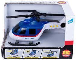 <b>Big Motors</b>. <b>Игрушка Вертолет</b> полицейский 018-1E ...