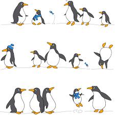 "Штора для ванной комнаты <b>Tatkraft</b> ""<b>Penguins</b>"", 180 см х 180 см ..."