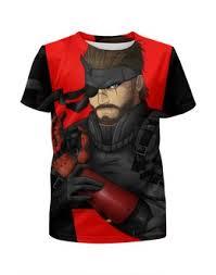 """Детские футболки c дизайнерскими принтами """"metal <b>gear</b>"""" - <b>Printio</b>"""