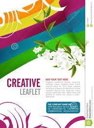 leaflet design royalty stock photography image  leaflet design