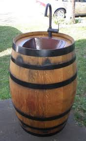 alpine wine design hometalk easy diy keg sink for your backyard alpine wine design outdoor