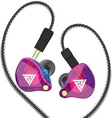 Wired Earphone with Microphone <b>QKZ VK4 Stereo</b> Wired Earphone ...