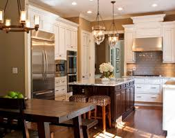 view in gallery beautifully illuminated kitchen sports a couple of cool pendant lights cool kitchen lighting ideas