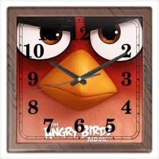 """Часы для офиса c эксклюзивными принтами """"игры"""" - <b>Printio</b>"""