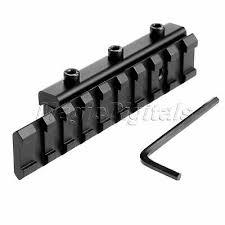 11mm to 20mm Tactical <b>Dovetail Weaver</b>/<b>Picatinny Rail</b> Adapter ...