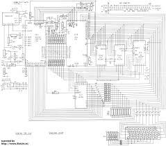emu docs  all computerzx  sch png  zx  schematic diagram    x     from lil old sinclair computer technical information repository