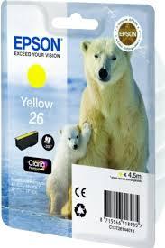 Купить <b>C13T26144010 Картридж Epson</b> 26 YE для Expression ...