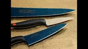 Японские <b>кухонные ножи</b> KASUMI в действии: нарезка ...