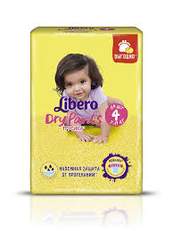 <b>Подгузники</b>-<b>трусики libero dry</b> pants макси (7-11кг.) (мега упаковка ...