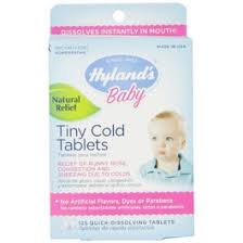 Hylands <b>Baby Tiny Cold</b> Tablets, Quick Dissolving Tablets - 125 ct