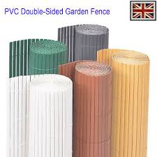 <b>Garden Fencing</b> Supplies <b>PVC</b> Privacy <b>Fence Double</b>-<b>Sided Garden</b> ...