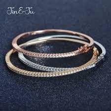 <b>JIN&JU</b> Rainbow Stone <b>Women Jewelry</b> 925 Sterling Silver Pendant ...