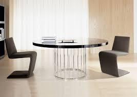 round black white modern kitchen tables