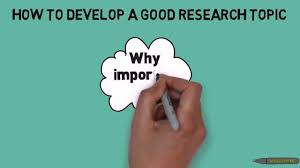 how to think of a good research topic how to think of a good research topic