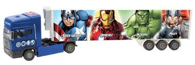Фура <b>Autogrand</b> Junior Motors <b>Avengers</b> (49395) 1:48 — купить по ...