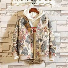 Embroidery Jacket Men <b>2019 New Arrival Spring</b> Autumn Hip Hop ...
