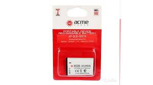 Новый Li-Ion <b>аккумулятор AcmePower AP</b>-SLB-0837B купить в ...