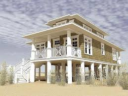 Modular Beach Homes On Pilings   Gallery of Narrow Lot Beach House    Modular Beach Homes On Pilings   Gallery of Narrow Lot Beach House Plans