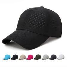HT1771 Summer Baseball Caps Men Women Plain Solid ...