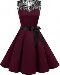 <b>Bbonlinedress</b> Women's 1950s Vintage Rockabilly Swing Dress ...