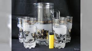 Кувшин + <b>4</b> стакана. <b>Охлаждающая</b> напиток кружка купить в ...
