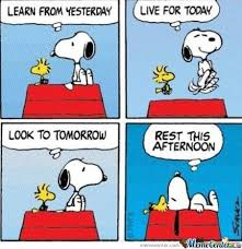 Snoopy's Wise Words by ratingo - Meme Center via Relatably.com