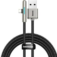 <b>Baseus Elbow LED 40W</b> USB Type-C Data Cable for Huawei P30 ...