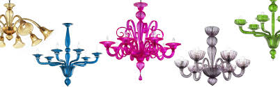 contemporary glass chandeliers chandelier modern italy blown glass