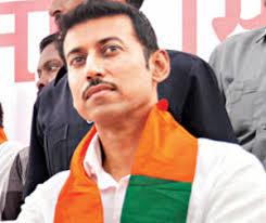 Image result for rajyavardhan singh rathore politics