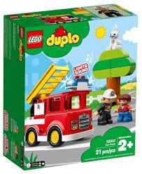 <b>Конструктор LEGO DUPLO</b> 10901 <b>Пожарная</b> машина — купить по ...