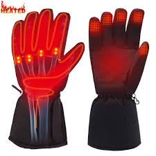 Rabbitroom <b>Winter Electric Heated</b> Gloves Battery Power Heating ...