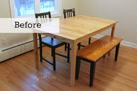 dining table woodworkers: diy concrete dining table top and dining set makeover the crazy