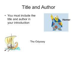 world literature essay on the odyssey   reportzwebfccom world literature essay on the odyssey