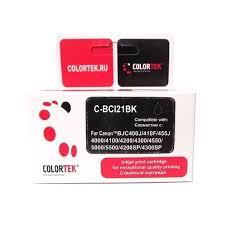 <b>Картридж Colortek</b> BCI-21 <b>Black</b>, совместимый