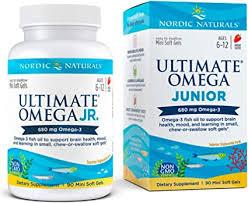 Nordic Naturals - Ultimate Omega Junior, Support for ... - Amazon.com