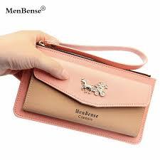 Lady <b>Casual</b> Leather <b>Women Wallet Simple</b> Style Lady <b>Wallet</b> Long ...