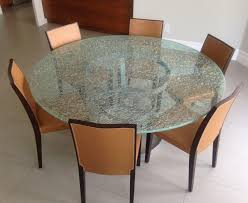 glass dining table sets inta