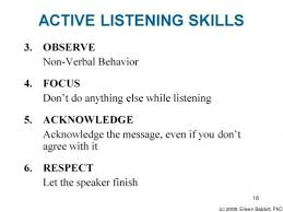 the difference between hearing and listening how to listen