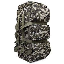 <b>90L Large Capacity</b> Hiking Backpack Military Tactical Pack ...