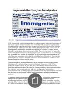 argumentative essay on immigration pdf   immigrationargumentative essay on immigration pdf
