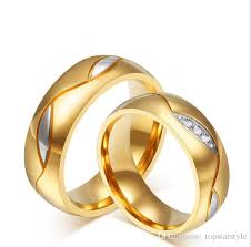 <b>6mm</b> for men and women <b>fashion</b> jewel stainless steel ring <b>lover's</b> ...