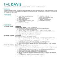 best dishwasher resume example livecareer choose