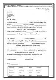Sample Job Application Letter For English Teacher